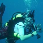 Diving and Look\'en fine doing it